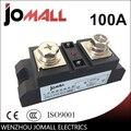 100A вход 70-280VAC; Выход 24-480VAC промышленный SSR Однофазное твердотельное реле