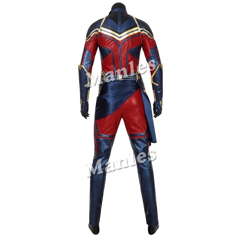 Captain Marvel Costume Ms Marvel Carol Danvers Cosplay Avengers 4 Endgame Zentai