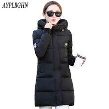 high quality Casual Warm Ladies Basic Coat jaqueta feminina jacket women parkas cotton Women Winter Jacket Plus size Outerwear
