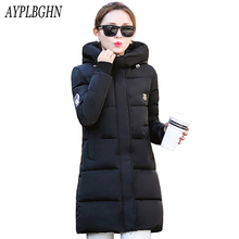 high quality Casual Warm Ladies Basic Coat jaqueta feminina jacket women parkas cotton Women Winter Jacket Plus size Outerwear