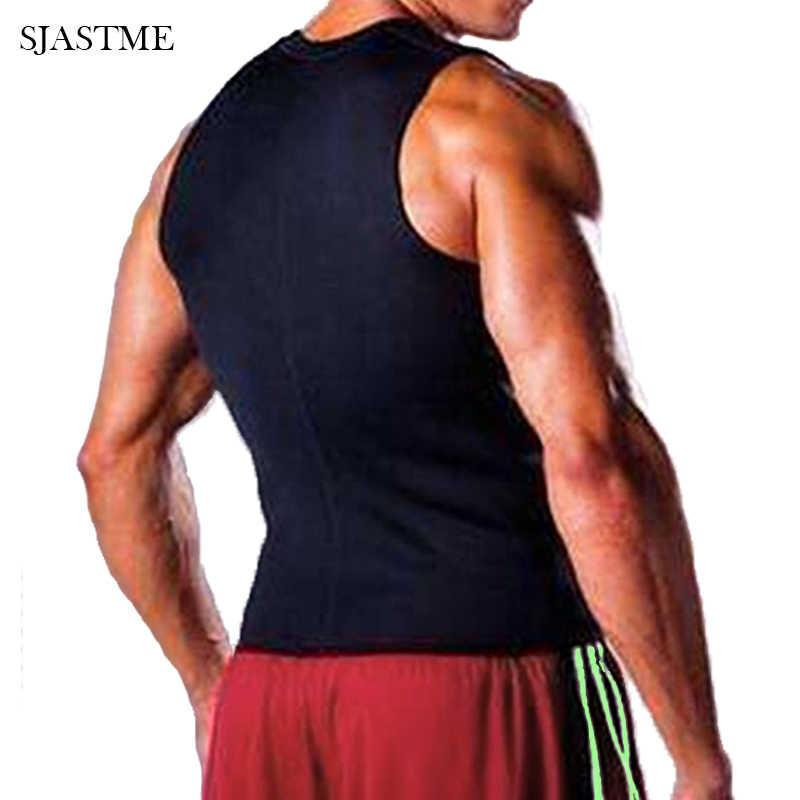 SJASTME жилет с эффектом сауны рубашка пот горячие тела Формирователи Топ похудение Танк формирователь для похудения талии тренерские Корсеты Корректирующее белье