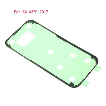 10 pcs/lot Battery Back Cover Housing Adhesive Sticker for Samsung Galaxy A3 (2017) A320 A320F Glue Tape image