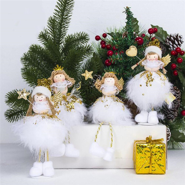 Christmas Tree Decorations Christmas Angel Doll Christmas Pendant