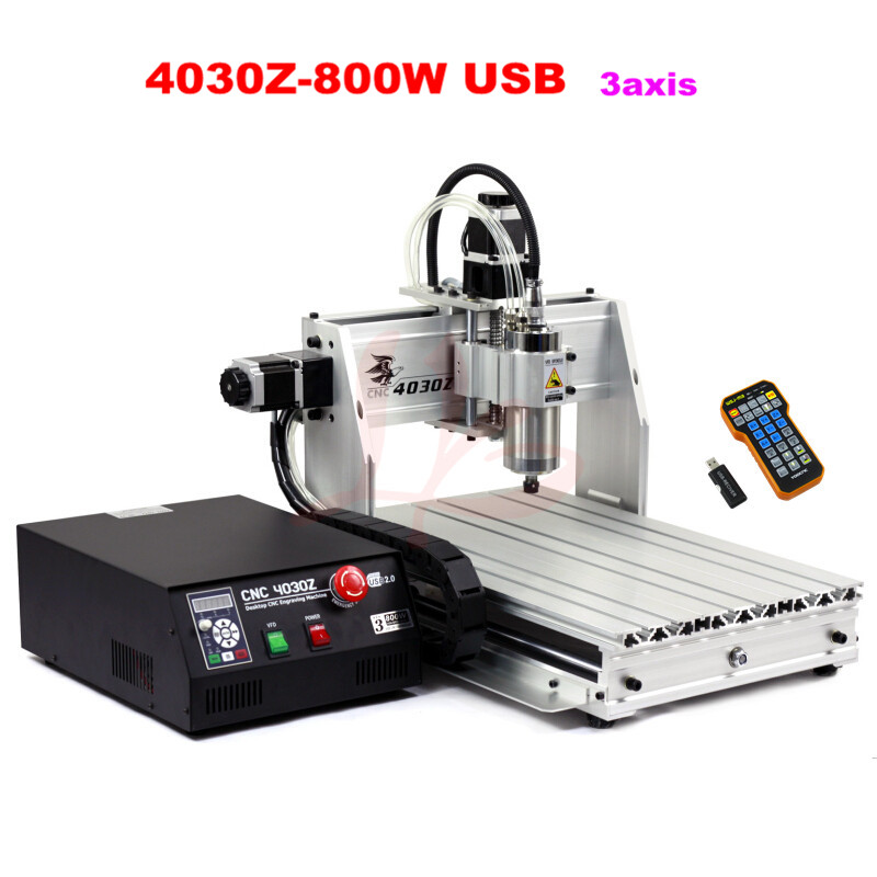 Russia tax free  Mini CNC cnc router 3040 800w 3 axis machine USB with wireless mach3 remote controller eur free tax cnc router 3040 5 axis wood engraving machine cnc lathe 3040 cnc drilling machine