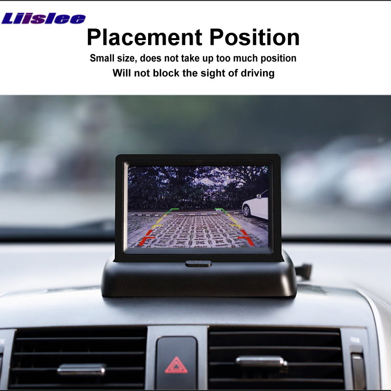 US $24 68 20% OFF Liislee For Nissan Murano Z51 Foldable Car HD TFT LCD  Monitor Screen Display / 4 3 inch / NTSC PAL Color TV System-in Car  Monitors