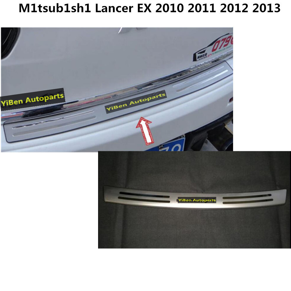 Car styling ABS chrome back rear view Rearview Side Mirror Strip stick trim panel lamp hood For Mitsubishi Lancer EX 2010- 2013 car styling abs chrome body side moldings side door decoration for hyundai ix35