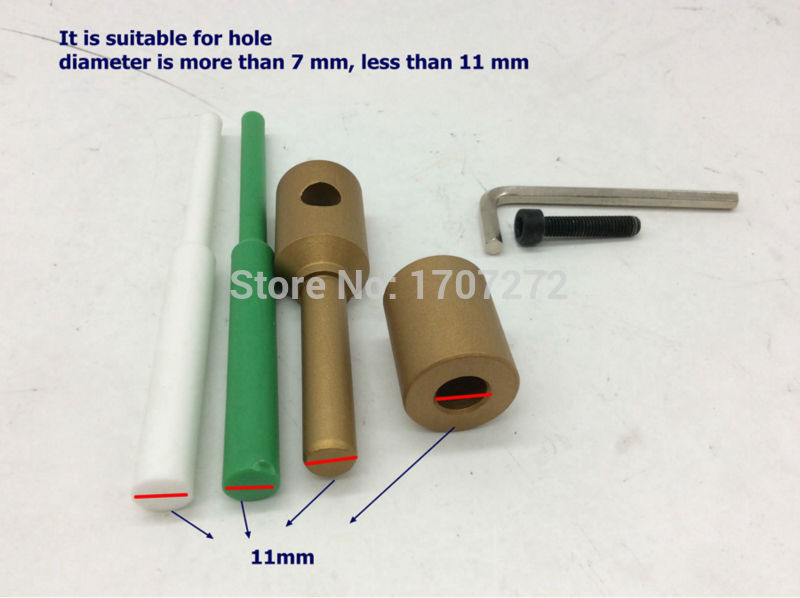 Free Shipping PPR Water Pipe Repair Tool, Repair Leaks And Loopholes 11mm Plastic Pipe Welding Parts Die Head, Welding Mold