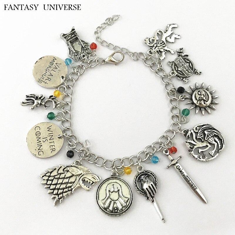 FANTASY UNIVERSE Freeshipping 20pcs a lot A charm bracelet QLYXSL01