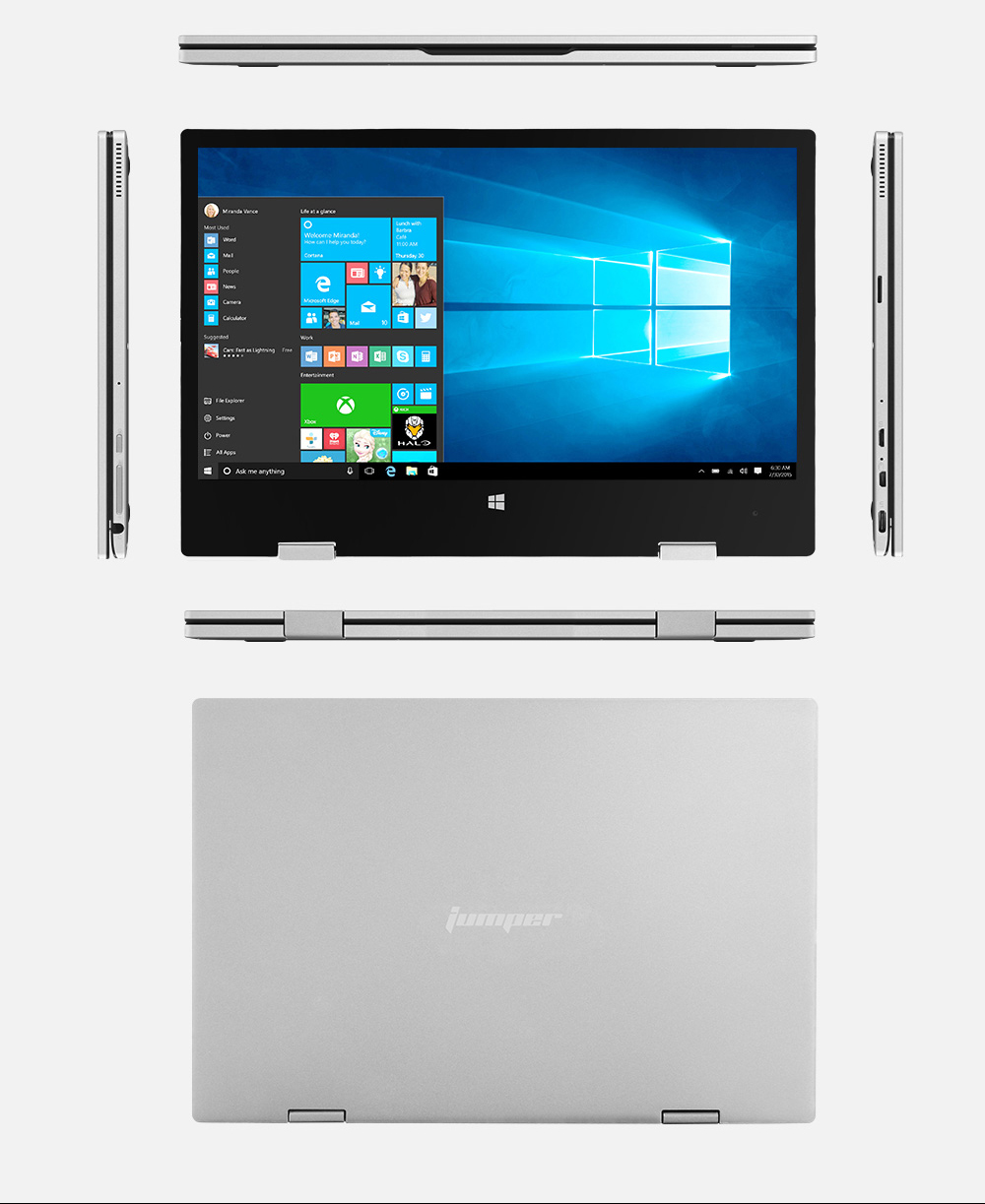 Jumper EZbook X1 11.6 FHD IPS Touchscreen laptop (12)