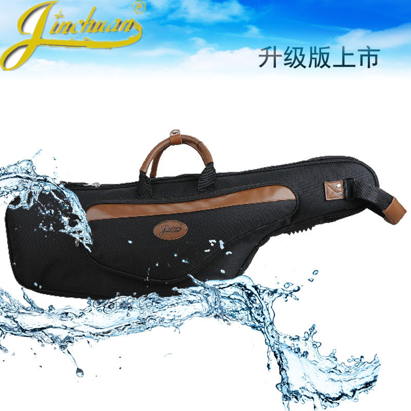 High-grade New Wholesale professional portable tenor saxophone bag Bb sax gig case waterproof backpack soft cover padded thicker 90cm professional portable bamboo chinese dizi flute bag gig soft case design concert cover backpack adjustable shoulder strap