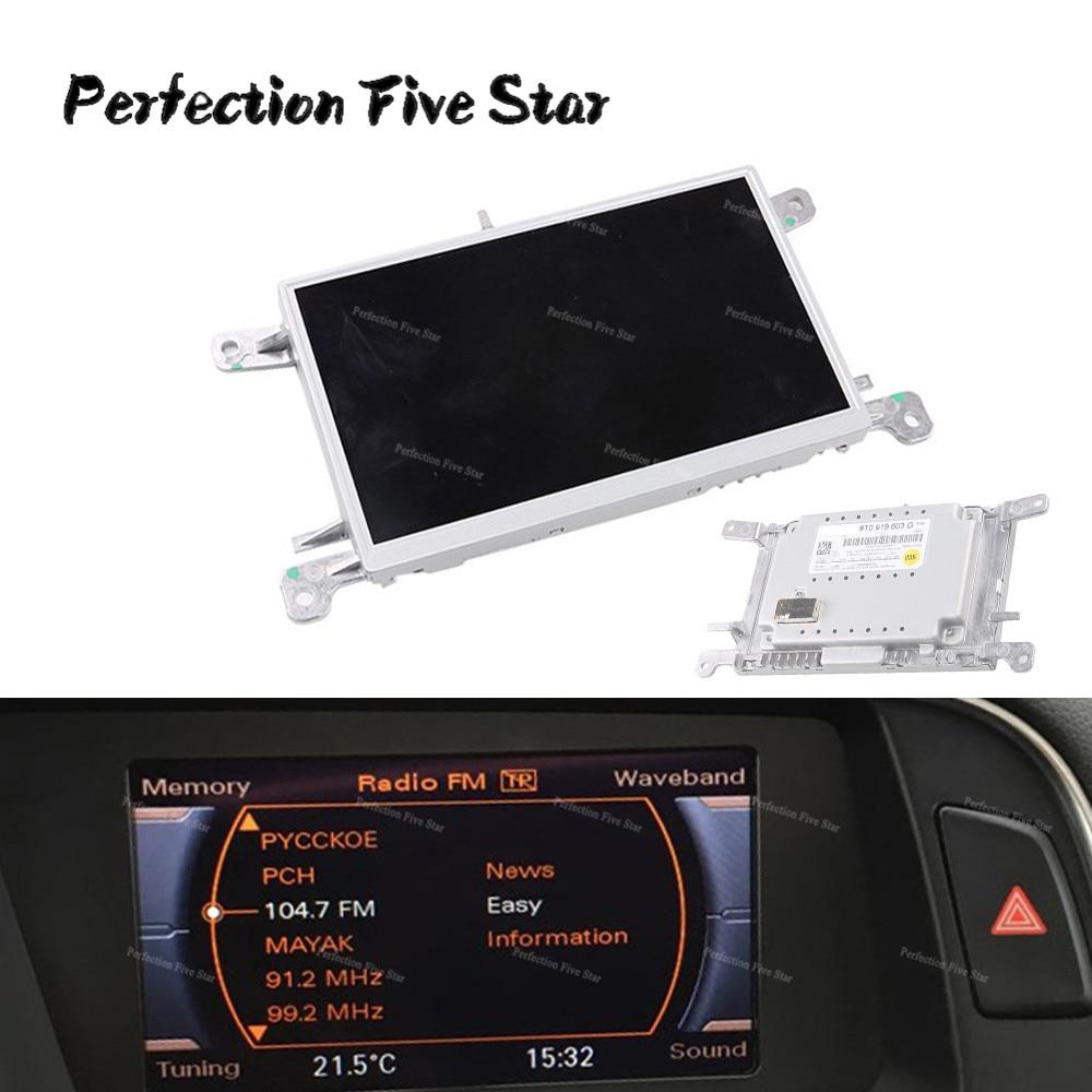 Navi Display Navigation Monitor LCD Audi A5 A4 8T0919603C MMI Standard