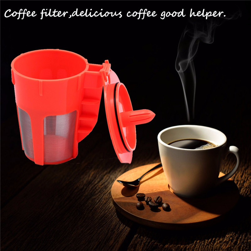new arrival 1 pack orange refillable kcarafe reusable coffee filter replacement for keurig perfect - Cheap Keurig
