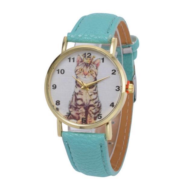 Women Girl Casual Women Wristwatch King Cat Luxury Quartz Watch Relogio Feminino