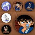 Youpop Anime Detective Conan Caso Cerrado Broche Insignia Accesorios Para La Ropa Sombrero Mochila Decoración HZ1467