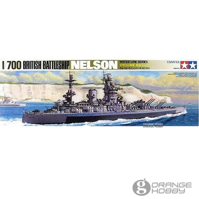 d8eaf89f65c6 OHS Tamiya 77504 1 700 British Battleship Nelson Assembly Scale Military  Ship Model Building Kits G