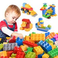 102pcs Diy Duploe Big Size Building Blocks Bricks Set City Creative With Educational Toys For Children Gifts