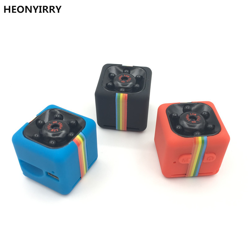 HEONYIRRY SQ11 SQ8 portátil 12MP Full HD 1080 p visión nocturna pequeño Mini Cam Micro cámara grabadora de Vídeo DV DVR cámara tarjeta SD