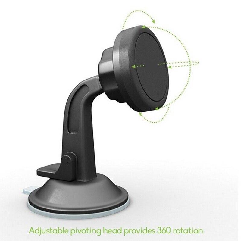 360 Rotating <font><b>Universal</b></font> <font><b>Suction</b></font> <font><b>Cups</b></font> <font><b>Car</b></font> Windshield <font><b>Mount</b></font> <font><b>Holder</b></font> Stand <font><b>For</b></font> Cellphone Magnetic Mobile Phone <font><b>Holder</b></font> <font><b>For</b></font> CPS / <font><b>iPad</b></font>