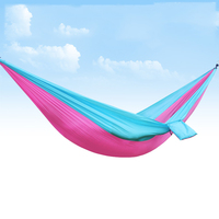 hammock Outdoor high end super light double parachute cloth indoor dorm swing mountaineering leisure