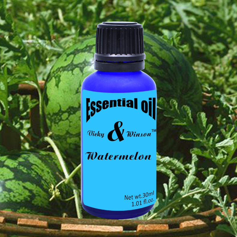 Vicky&winson Watermelon Aromatherapy Essential Oils 30ml Deodorization Water - Soluble Aromatherapy Lamp Furnace Humidifier
