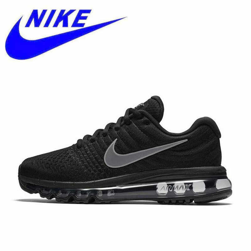 458a4552ee Original New Arrival Nike Air Max 2017 Breathable Women's Authentic Running  Shoes Sports Sneakers 849560-