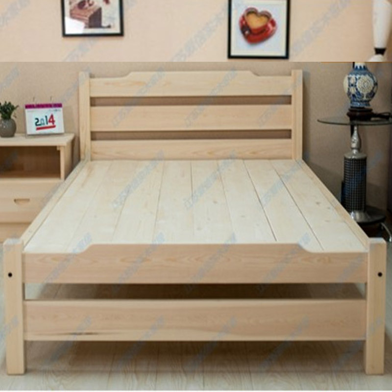 Los niños de madera maciza lindo little boy and girl cama doble ...