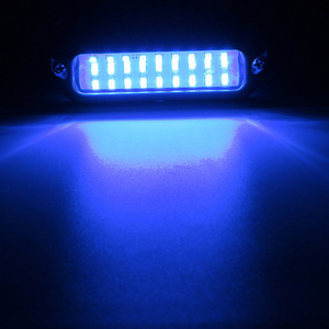 Image 5 - 27LED Edelstahl Unterwasser Licht 12 V Marine Boot Yacht Licht Wasserdichte Lampe