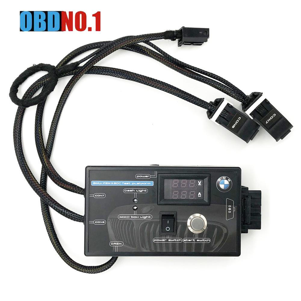 2019 New FEM BDC Module Testing Platform for BMW F20 F30 F35 X5 X6 I3 Free Shipping for BMW FEM Tester-in Car Diagnostic Cables & Connectors from Automobiles & Motorcycles    1