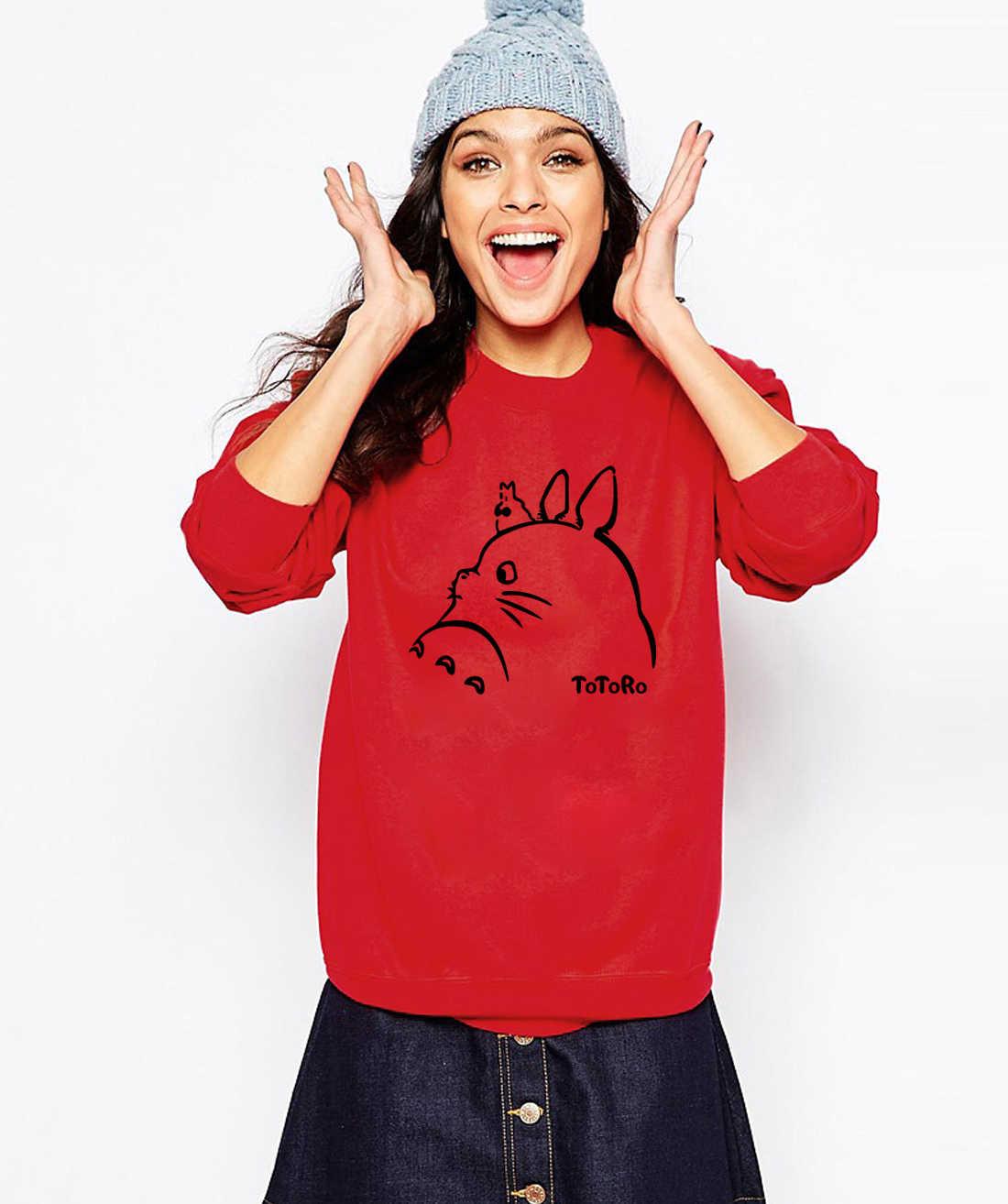 2019 heiße Neue Frauen Hoodies Sweatshirts Cartoon Anime Drucken Frühling Winter Weibliche Sweatshirt Kawaii Dame Hoody Trainingsanzug Harajuku