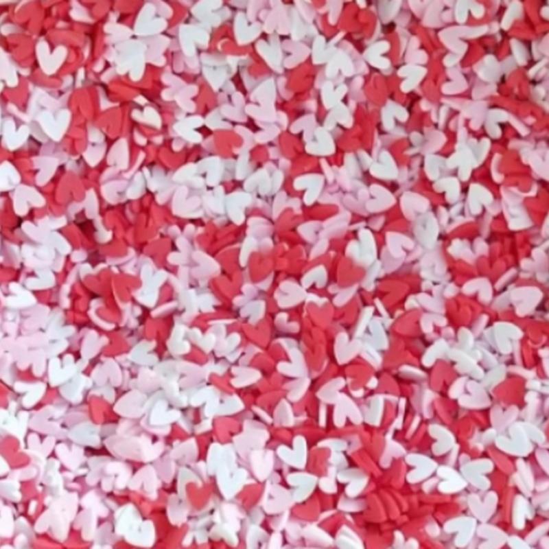 Soft pottery 1000pcs Fruit slices Filler For Nails Art Tips Slime Fruit For Kids DIY slime Accessories Supplies Decoration