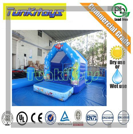 Inflatable Bouncy Castle Bounce House Jump Inflatable font b Bouncer b font Trampoline Water Slide