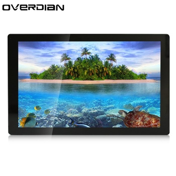 """21""""/21.5 inch VGA/USB/HDMI Interface Ten/Muti- Touch Industrial Control LCD Monitor/Display Metal Shell Fixed Ear Installation"""