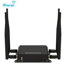 Cioswi 4G Мобильный маршрутизатор Wi-Fi 3g 4G модем с sim картой слот для автомобиля/автобуса роутер 128 МБ ОЗУ OpenWRT маршрутизатор Lte Wi-Fi маршрутизатор