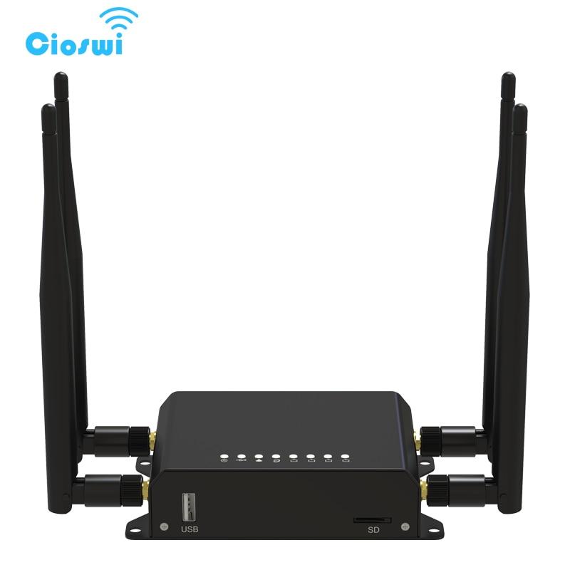 Routeur Mobile Cioswi 300 Mbps 4G Wifi 3G 4G Modem avec emplacement pour carte Sim routeur Wifi voiture/Bus 128 mo RAM routeur OpenWRT routeur Wifi Lte