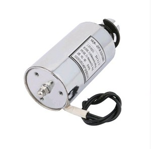 Image 1 - MQ8 Z57B DC12V DC24V 10mm 6 kg 10mm 12 kg Itme Çekme Tipi Eylem DC Selenoid Elektromıknatıs