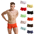 Men Super Thin Transparent Breathable Sexy Boxer Underwear Penis Pouch Trunk Comft Shorts Underpants Panties calzoncillos hombre