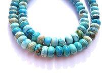 2 brins 5x8 6x10 10x14mm Mer Des Sédiments Imperial Jasper pierre Ronde roue rondelle bijoux perles