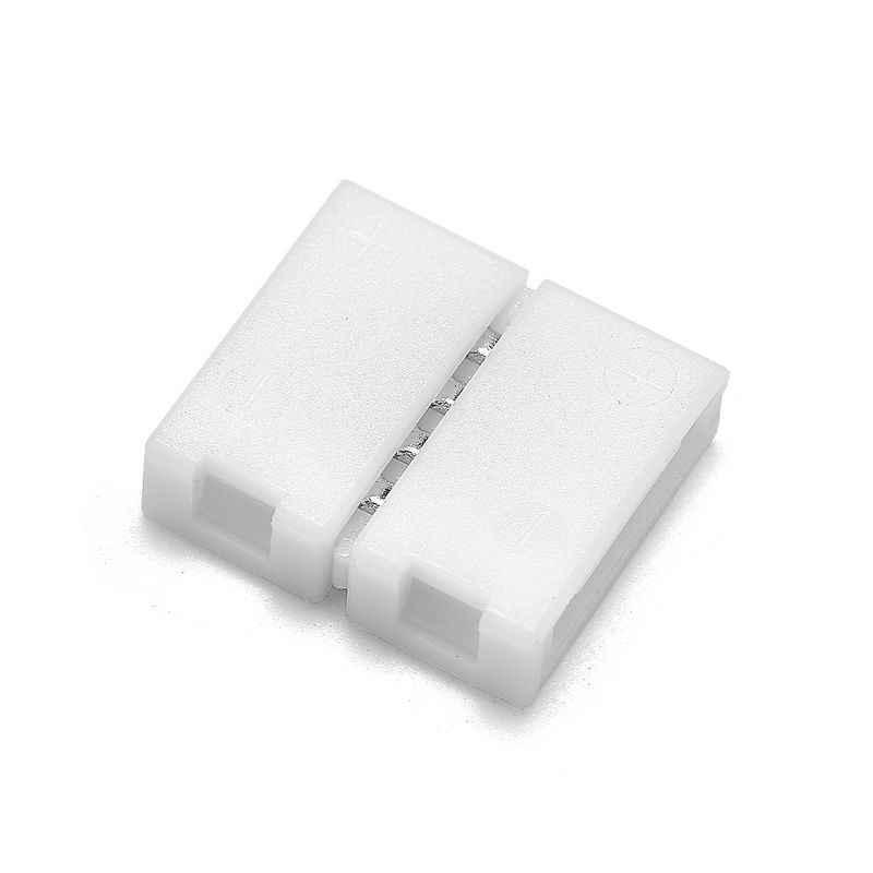 5 Buah 10 Mm 4 Pin RGB LED Strip Konektor Gratis Las 8 Mm 10 Mm 2 Pin Konektor untuk SMD 3528 5050 5630 RGB LED Strip Lampu