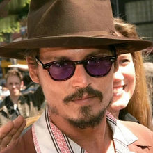 2018 Johnny Depp Style Glasses Men Retro Vintage Prescription Glasses Women Optical Spectacle Frame Clear lens zonnebril mannen(China)