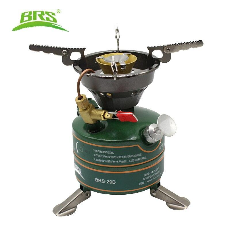 Portable qualité supérieure en plein air fournaise à huile huile chaudière non-préchauffé essence poêle de cuisson cuisinière camping cuisinière pour pique-nique BRS-29B