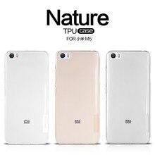 Xiao Mi M5 оригинальный Nilkin ТПУ 0.6 мм ультра тонкий телефон делам Капа Для Сяо Mi Mi5 M5 Mi 5 силиконовый чехол с розничной упаковке