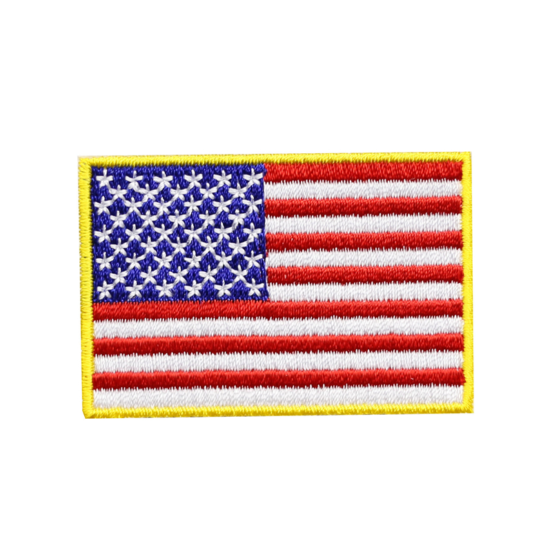 TURKEY Flag Embroidered Iron-On Patch Military Tactical Emblem White Border