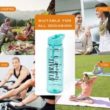 750ml Tritan Plastic Sports Water Bottle With Straw BPA Free
