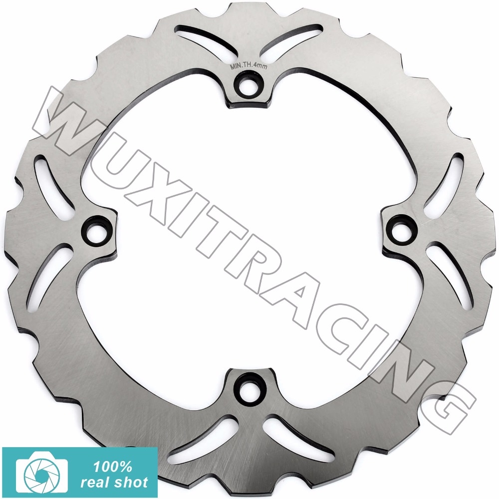 Rear Brake Disc Rotor for SUZUKI DL 650 1000 DL650 DL1000 V-STROM ABS 2002-2016 2003 2004 2005 06 07 08 09 10 11 12 13 14 15 16 adjustable short straight clutch brake levers for suzuki gsx 650 f gsf 650 bandit n s dl 1000 v strom 2002 2015