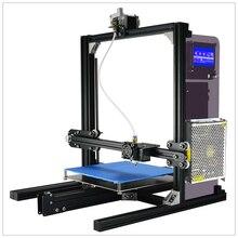Nueva Llegada LCD Pantalla Táctil de Funcionamiento Impresora 3D Impresoras 3D de Escritorio de Uso En El Hogar Digital de DIY Precio Barato DIY Dual Extrusoras