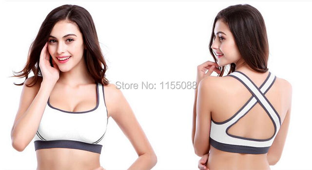 100PCS/lot Hot Selling Women Padded Top Vest  Bra Stretch Cotton Seamless Free Shipping popular Bra