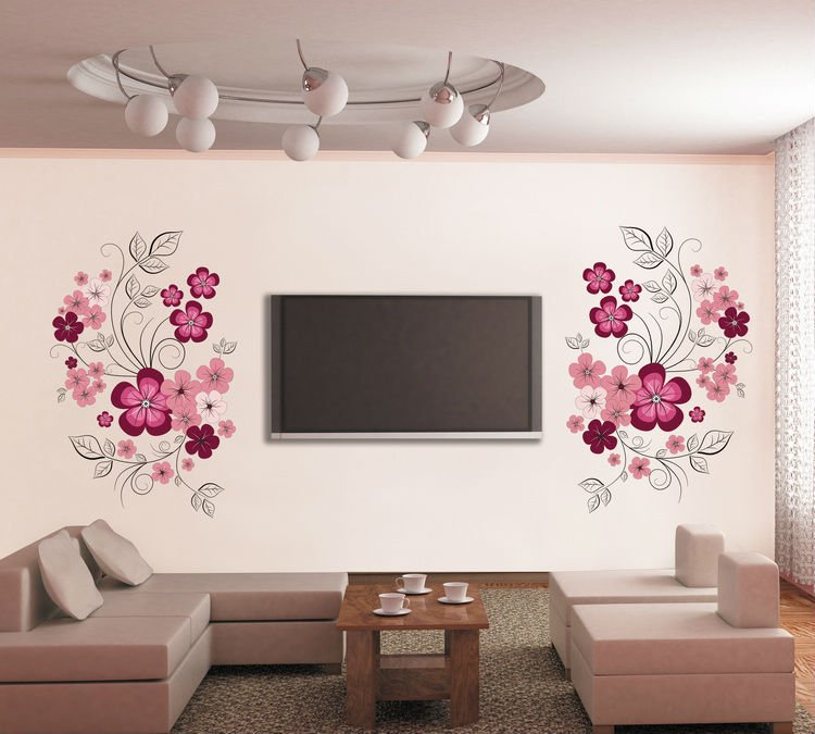 Removable Clock Wall Stickers