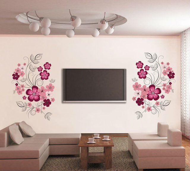 Aliexpress Com Wall Stickers Flowers Home Decoration Wall