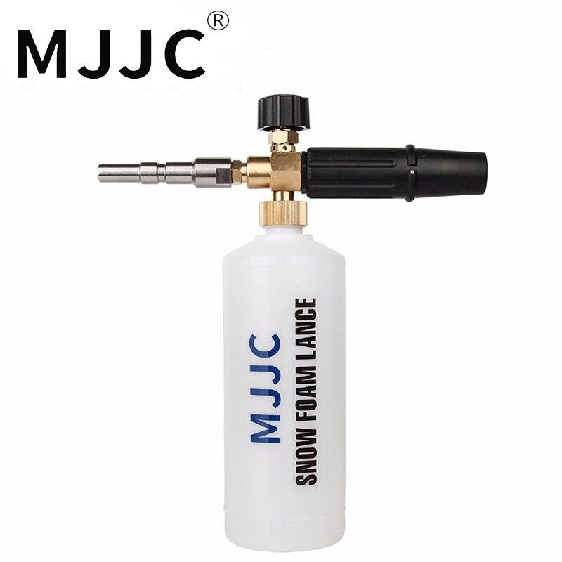 MJJC marca de alta calidad de nieve espuma Lance italiano Nilfisk Kew Alto Wap calma modelos profesionales lavado lavadora a presión