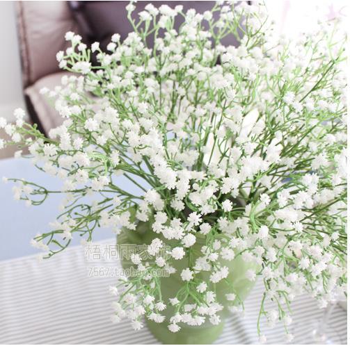 Home Accessories Wedding Decoration Silicone Plant Gypsophila Artificial Flower